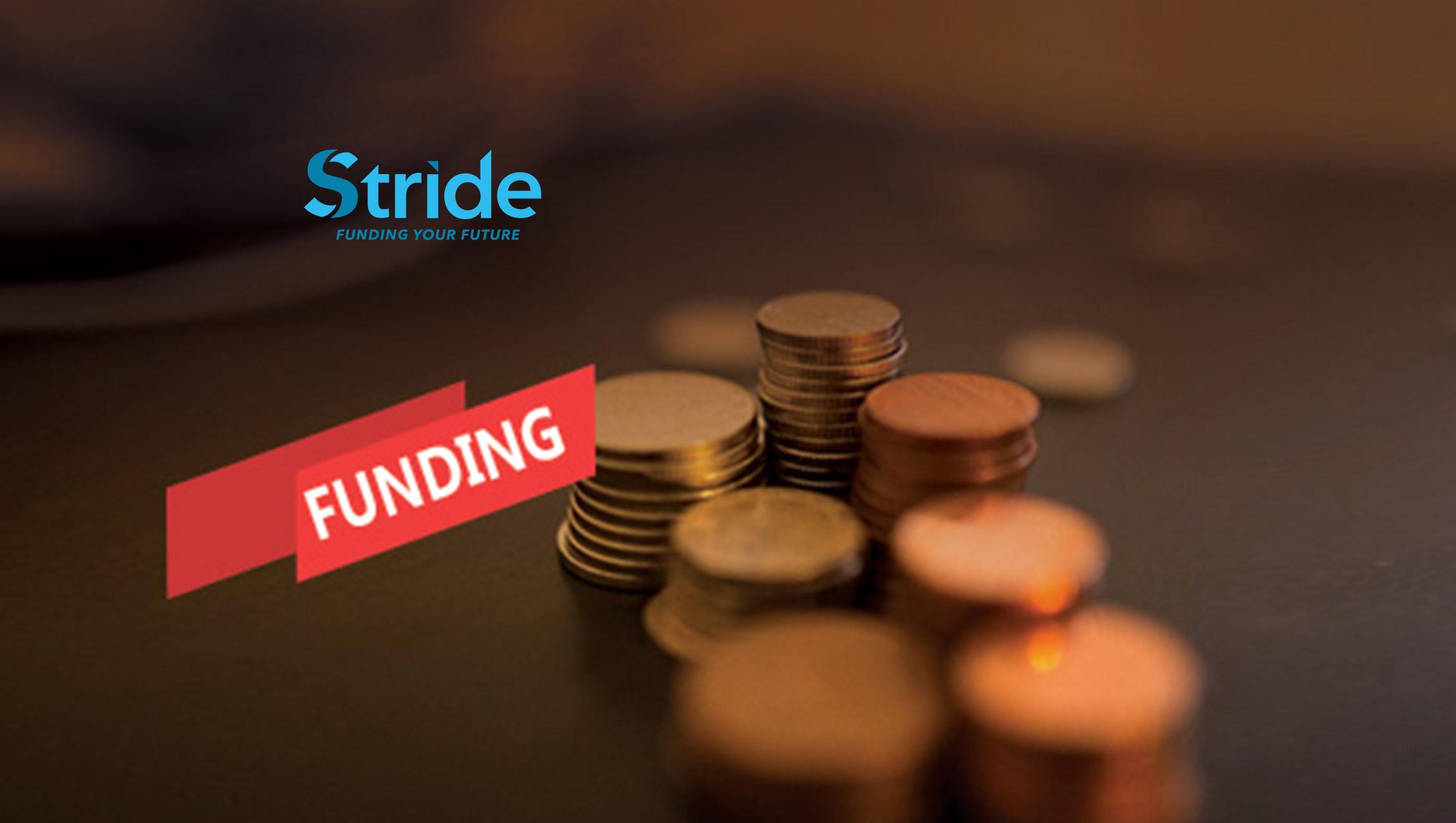 FinTech Disruptor Stride Funding Secures Venture Funding