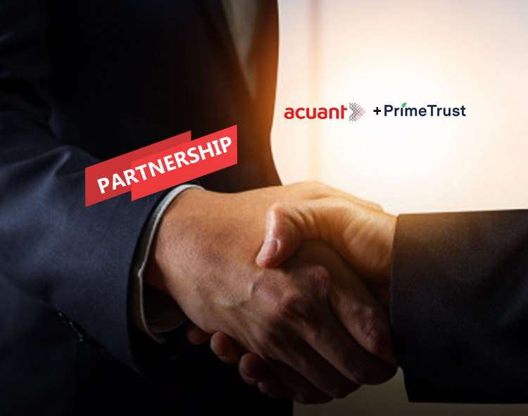 Prime Trust Partners with Acuant for its All-In-One Trusted Identity Platform