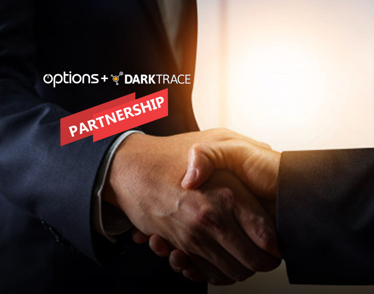 Options Announce Strategic Partnership With Darktrace