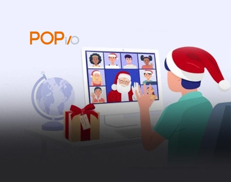 POPi/o Enables Free Virtual Santa Visits To Inspire Holiday Cheer Despite Continuing COVID-19 Concerns