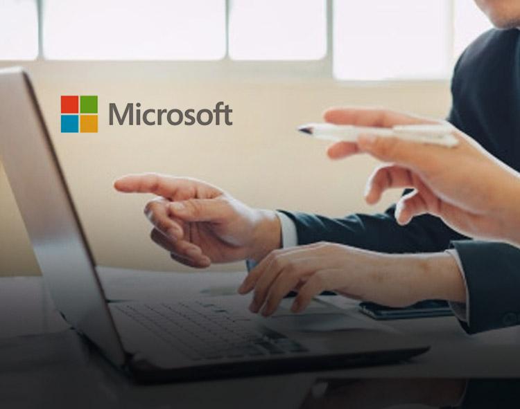 Microsoft Debuts Financial Services Cloud